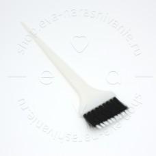 Кисть для окрашивания Harizma белая, h10953-combo