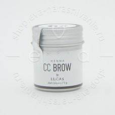 ХНА ДЛЯ БРОВЕЙ CC BROW dark brown В БАНОЧКЕ 5 ГР
