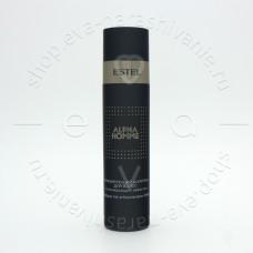Тонизирующий шампунь с охлаждающим эффектом ALPHA HOMME 250 мл.