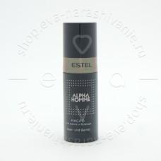 Масло для волос и бороды ALPHA HOMME 50мл.