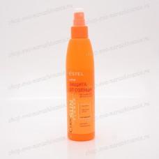 Спрей «Увлажнение. Защита от UV-лучей» для всех типов волос CUREX SUN FLOWER 200 мл.