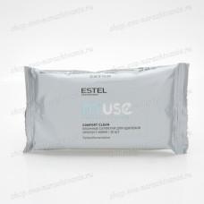 Салфетки влажные для удаления краски с кожи головы ESTEL Element 20 шт.