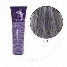 Краска для волос KEEN 0.1 (микстон пепельный)