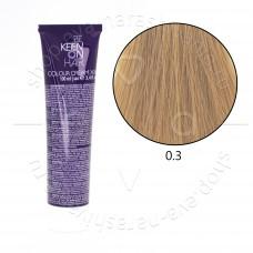 Краска для волос KEEN 0.3 (микстон золотистый)