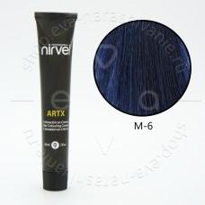 Краска для волос NIRVEL ARTEX КОРРЕКТОР M-6 синий (антиоранжевый)