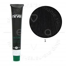Краска для волос  NIRVEL NATURE безаммиачная № 1