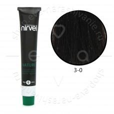 Краска для волос NIRVEL NATURE безаммиачная № 3