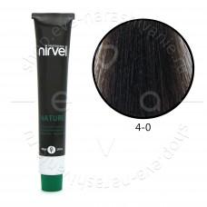 Краска для волос NIRVEL NATURE безаммиачная № 4