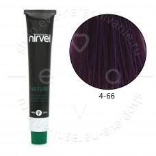 Краска для волос NIRVEL NATURE безаммиачная № 4/66