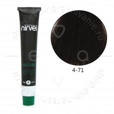 Краска для волос NIRVEL NATURE безаммиачная № 4/71