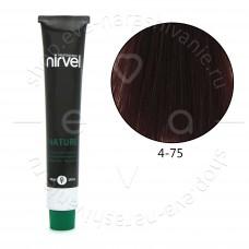 Краска для волос NIRVEL NATURE безаммиачная № 4/75
