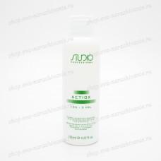 Кремообразная окислительная эмульсия 1,5% с экстрактом женьшеня и рисовыми протеинами Kapous Studio
