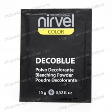 Блондирующий порошок Nirvel Decoblue 15гр