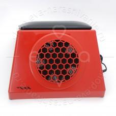 Пылесос для маникюра MAX Ultimate 4 65w (красный с черной подушкой)