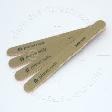 Planet nail, Пилка для искусственных ногтей,180/180