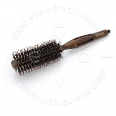 Брашинг деревянный Престиж натуральная щетина с хвостиком d 16/35 мм DEWAL