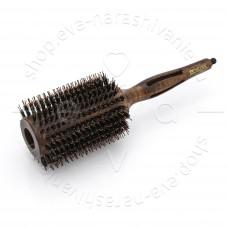 Брашинг деревянный Престиж натуральная щетина с хвостиком d 43/65 мм DEWAL