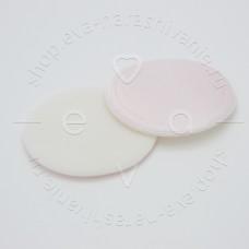 DEWAL N18, Губка макияжная круглая для пудры (5 шт)