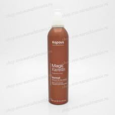 Мусс для волос нормальной фиксации Kapous Magic Keratin