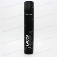 Лак для волос сильной фиксации Kapous Lacca Strong 750мл