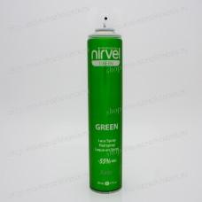 Лак для волос сильной фиксации Nirvel Green Forte