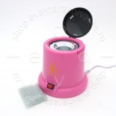 Стерилизатор гласперлен., в пластиковом корпусе (розовый)