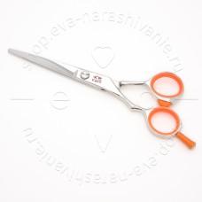Ножницы парикмахерские  TAYO TS4600L Orange 6/0 Прямые (для левши)