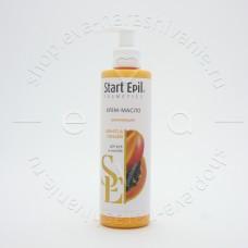 Start Epil, Крем-масло для рук «Манго и папайя», 250 мл
