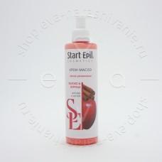 Start Epil, Крем-масло для рук «Яблоко и корица», 250 мл