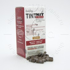 Godefroy TINT KIT Brown Краска-Хна в капсулах для бровей lidht brown 80капсул