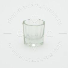 Стаканчик для разведения хны и ликвида, стеклянный, 5 мл
