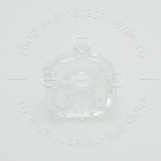 Стаканчик стеклянный с крышечкой для размешивания краски/хны 8мл.