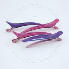 DEWAL, Зажимы пластик с силиконовой вставкой, 11,5 см (4 шт.)CL2015