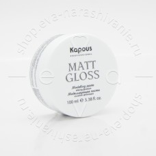 """Kapous Моделирующая паста д/волос сильной фиксации """"Matt Gloss""""100мл"""