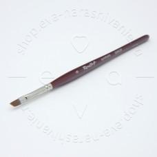 Roubloff, Кисть наклонная из коричневой синтетики №6 GN63R