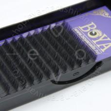 Ресницы для наращивания BOYA,  D-10mm, 0,20
