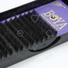 Ресницы для наращивания BOYA,  D-10mm, 0,15