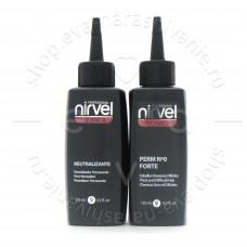 Nirvel Комплект для химической завивки  труднозавивающихся волос Pack Perm №0 Forte