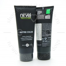 Nirvel Гель - маска Nutre Color зеленый