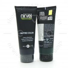 Nirvel Гель - маска Nutre Color лимон