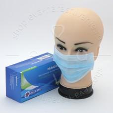 Маска медицинская на резинках №50