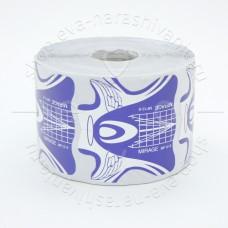 MIRAGE, Одноразовые формы, фиолетовые, 500 шт.